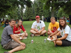 Sweet Pea Festival Volunteers