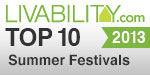 A Sweet Pea Top Ten Summer Arts Festival